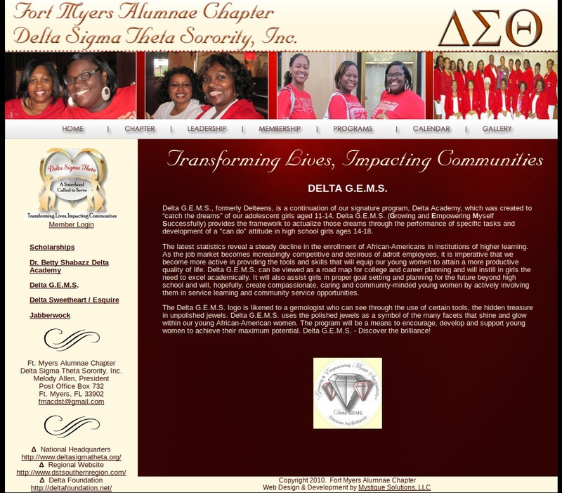 Ft. Myers Delta Sigma Theta Sorority